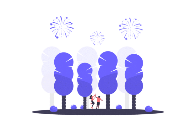 Illustration about the holiday season