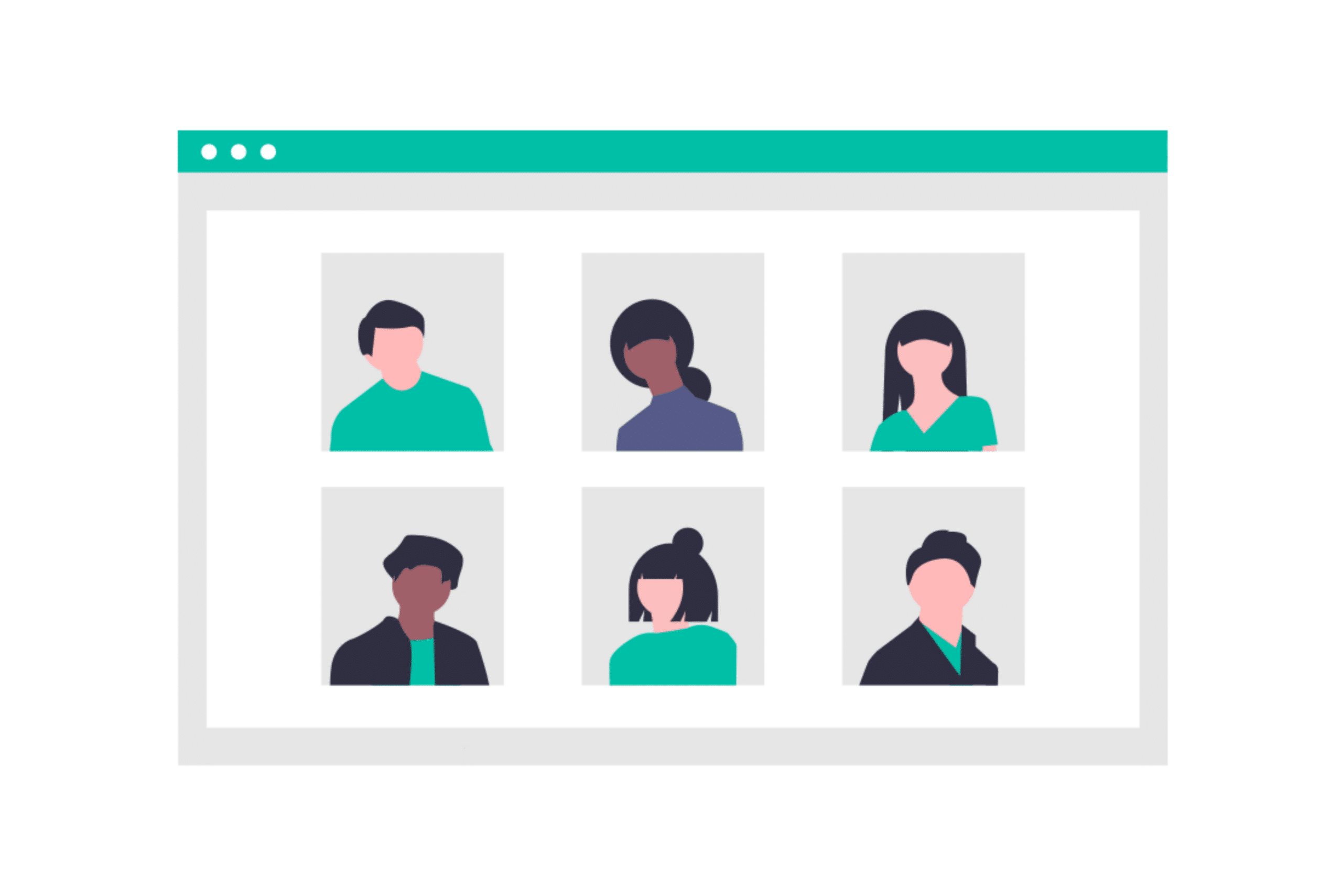 Illustration about different people and personalities