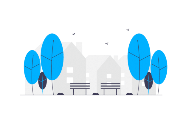 Illustration about investing in a good city in real estate
