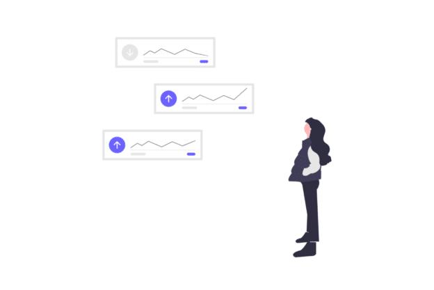 Illustration about a market investigation using a survey