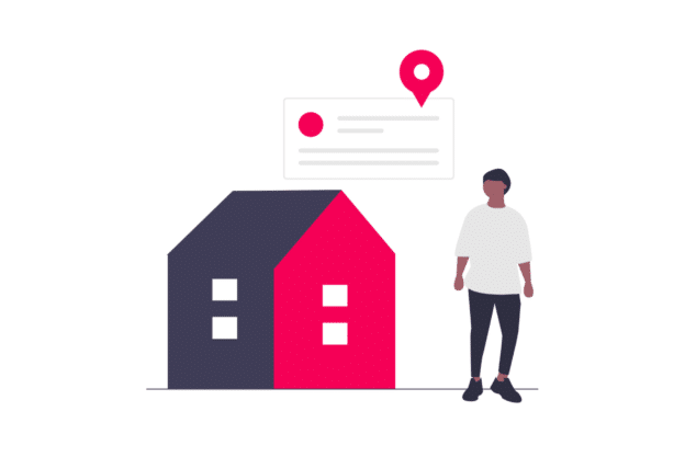 Illustration about what to consider when advertising a property