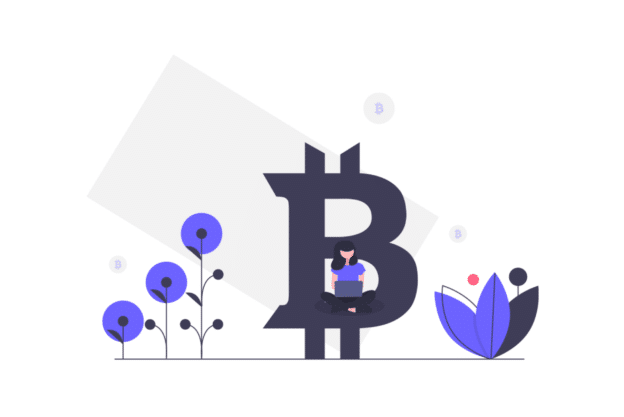 Illustration about bitcoin and its properties