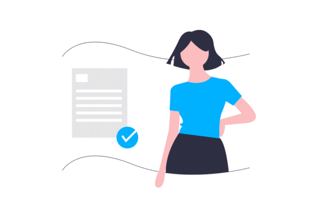 Illustration about the correct certifications for the rental proeprty
