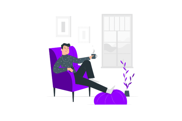 Illustration about small places and small living rooms
