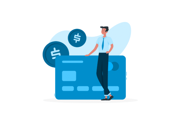 Illustration about cashflow and money that goes in and out
