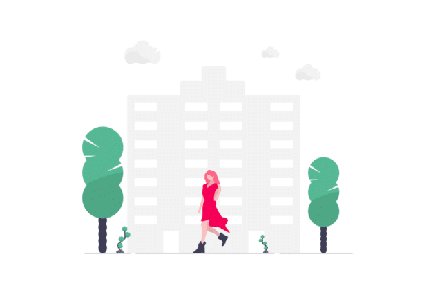 Ilustration about avoiding real estate risks in 2021